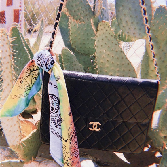 3b446849a0ad CHANEL Bags   Vintage Wgaca Quilted Flap Bag   Poshmark